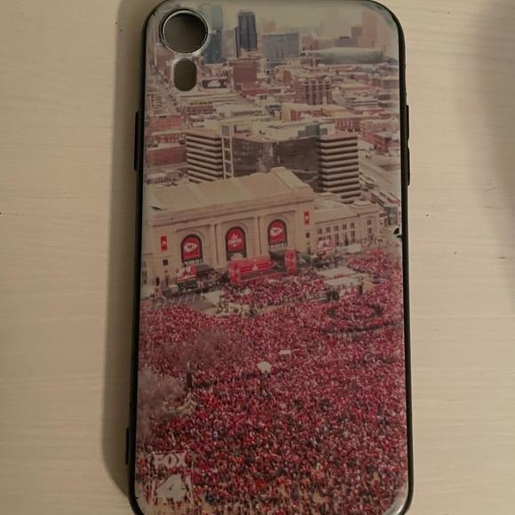 Kansas City chiefs parade iPhone XR case